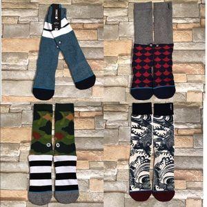 New Stance 4 bundle of socks 🧦🧦🧦🧦